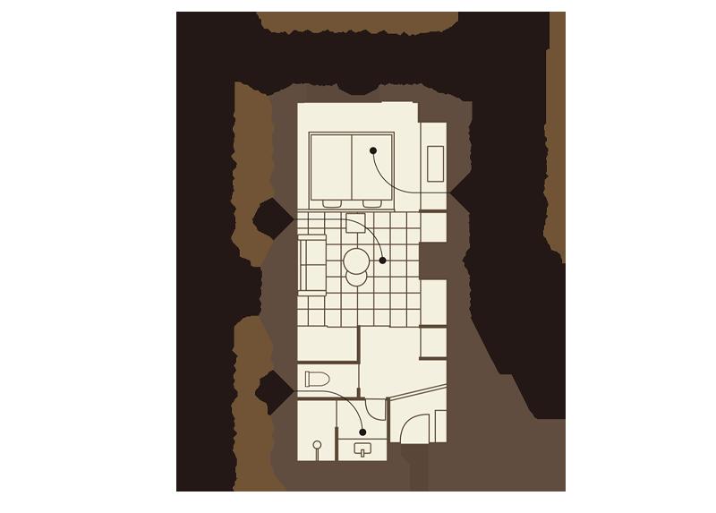 ムーンロードスタンダード 「富士」(ふじ)平面
