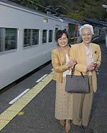 北川の駅にて