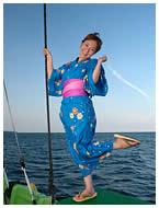 漁船体験ではじける!