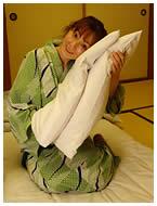 枕とユリちゃん